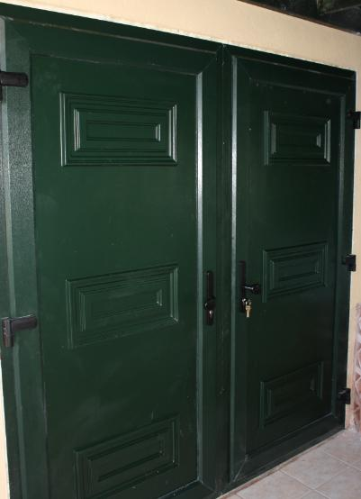 Flood Doors fitted in Greece