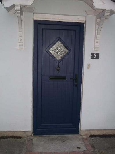 Classic Coloured Flood Door with Automatic Flood Protection every time the door is closed