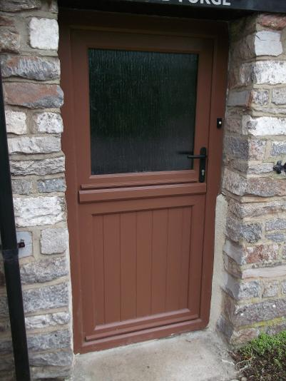 StormMeister Flood Door in Stable Door configuration.