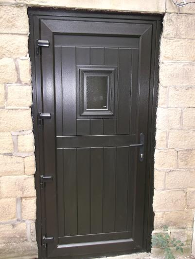 StormMeister Flood Door 'Black Rhino' Heavy Duty Flood Door.